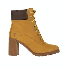 Timberland Allington 6 Damen Stiefel - Wheat Nubuck