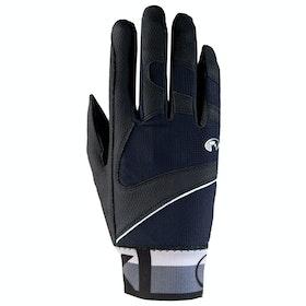 Roeckl Milton Riding Gloves - Dark Grey