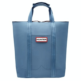Hunter Original Lightweight Rubberised Two Way Tote Laptop Rugzak - Gill Wave