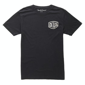Deus Ex Machina Biarritz Address T Shirt - Black