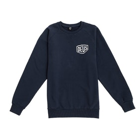 Deus Ex Machina Ibiza Address Crew Sweater - Navy