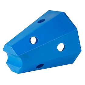 Stubbs Lidded Hay Roller Stable Toy - Blue