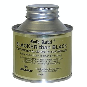 Gold Label Blacker Than Black Hufpflege - Black