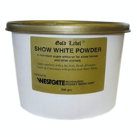 Gold Label Show White Powder Show Preparation - White