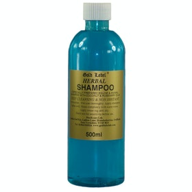 Gold Label Herbal Shampoo - Clear