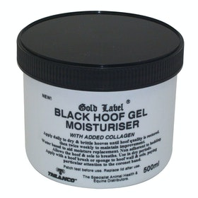 Gold Label Hoof Gel Moisturiser Hoof Supplement - Black