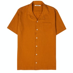 Koszula z krótkim rękawkiem Kestin Crammond - Survival Orange