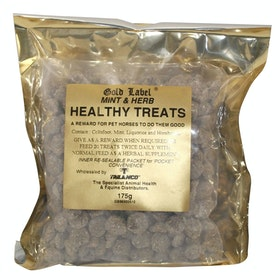 Gold Label Herbal Healthy Horse Treats - Mint Herb