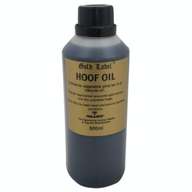 Gold Label Natural Hoof Oil - Black