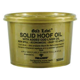 Gold Label Solid Hoof Oil - Natural
