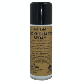 Gold Label Stockholm Tar Spray Hoof Care - Clear