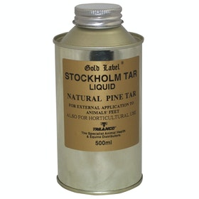 Gold Label Stockholm Tar Liquid Hoof Care - Clear