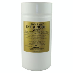 Gold Label Eye & Nose Wipes for Show Preparation - White