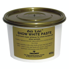 Gold Label Show White Paste Show Preparation - White