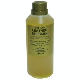 Gold Label Leather Dressing Leathercare - Clear