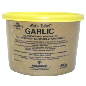 Gold Label Garlic Powder Health Supplement - Natural
