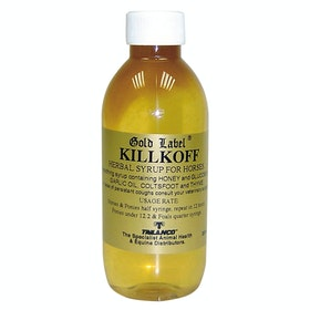 Gold Label Killkoff Herbal Syrup Supplement - Clear