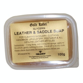 Gold Label Gylcerin Saddle Soap Leathercare - Clear