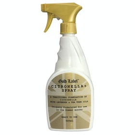 Gold Label Citronella + Spray Concentrate Coat Care - Clear