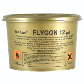 Gold Label Flygon 12 Gel Fly Repellent - Clear