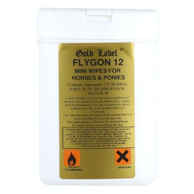 Gold Label Flygon 12 Wipes Fly Repellent - Clear