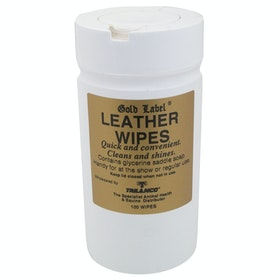Gold Label Leather Wipes Leathercare - Clear