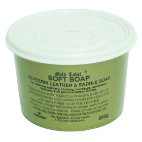 Gold Label Soft Soap Leathercare - Clear