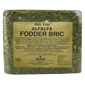 Gold Label Alfalfa Fodder Bric Health Supplement - Gold