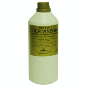 Gold Label Cider Vinegar Health Supplement - Clear
