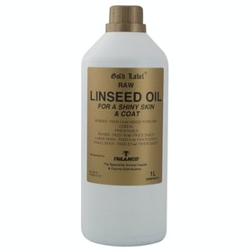 Gold Label Linseed Oil Health Supplement - Clear