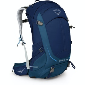 Osprey Stratos 34 Hiking Backpack - Eclipse Blue