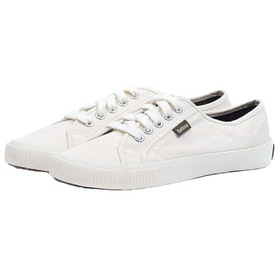 Barbour Luna Ladies Trainers - White
