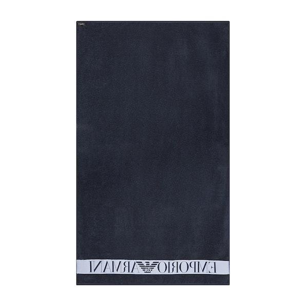 Emporio Armani Logo Beach Towel