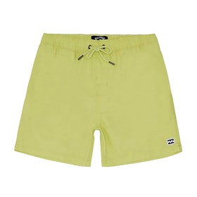 Billabong All Day Laybacks 14in Boys Boardshorts - Neon Yellow