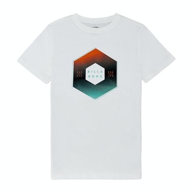 Billabong X Cess Boy Boys Short Sleeve T-Shirt - White