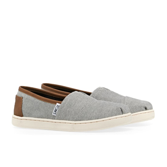 Toms Alpargata Kids Slip On Shoes