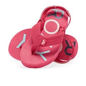 Roxy Tw Vista Ii Girls Sandals - Berry