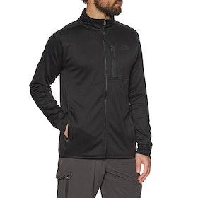 North Face Canyonlands Full Zip Softshell Jacket - TNF Black