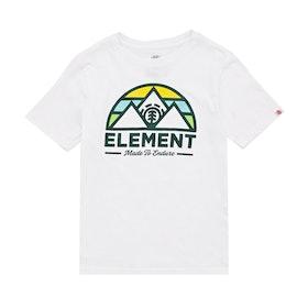 Element Squaw Boys Short Sleeve T-Shirt - Optic White