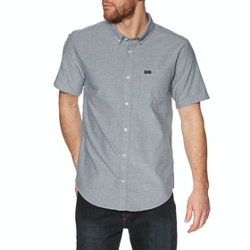 RVCA Thatll Do Stretch Short Sleeve Shirt - Distant Blue