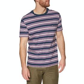 RVCA Damian Crew Short Sleeve T-Shirt - Moody Blue