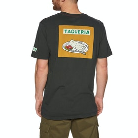 RVCA Taqueria Short Sleeve T-Shirt - Pirate Black