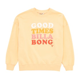 Billabong So Much Love Crew Sweater - Canary Yellow