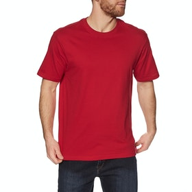 Element Basic Crew Short Sleeve T-Shirt - Chili Pepper