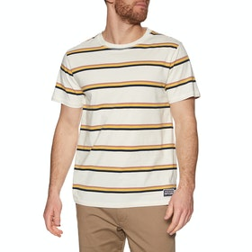 Rip Curl La Mariniere Short Sleeve T-Shirt - Off White