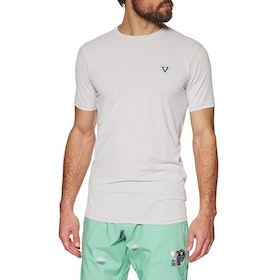Vissla Alltime Short Sleeve Surf T-Shirt - White