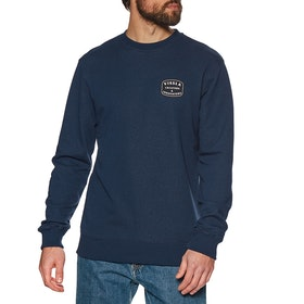 Sweat Vissla Structure Upcycled Crew - Midnight