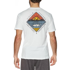 Vissla Warming Short Sleeve T-Shirt - White