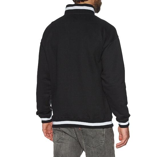 Magenta Kangoo Neckzip Sweater