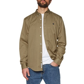Carhartt Madison Shirt - Leather Dark Navy